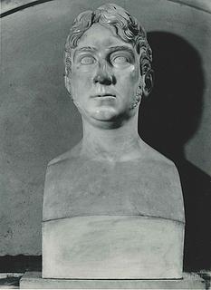Thorvaldsen: Pietro Benvenuti, 1813, marmor, Benvenutis gravmæle, S. Lorenzo, Firenze