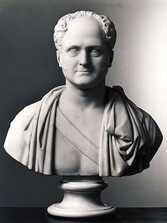 Bertel Thorvaldsen: Alexander 1., begyndelsen af 1820'erne. (Copyright tilhører Thorvaldsens Museum)
