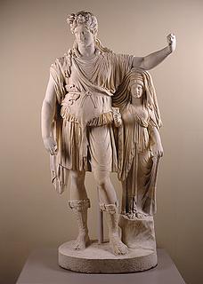 The Hope Dionysos, romersk, det sene 1. århundrede e.v.t., med 1800-tals restaurering af Vincenzo Pacetti, The Metropolitan Museum of Art, New York