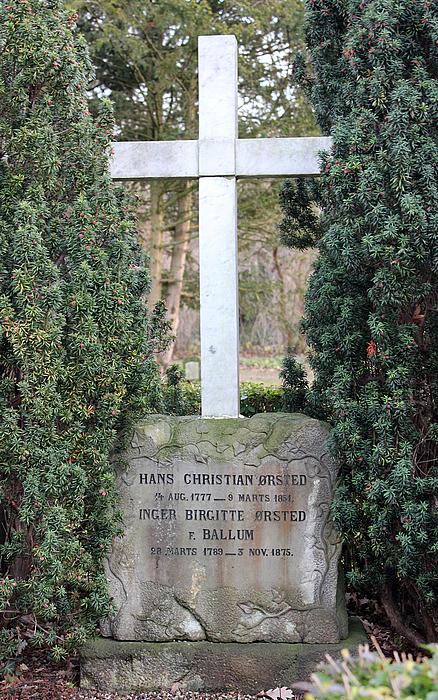 H.C. Ørsteds grav
