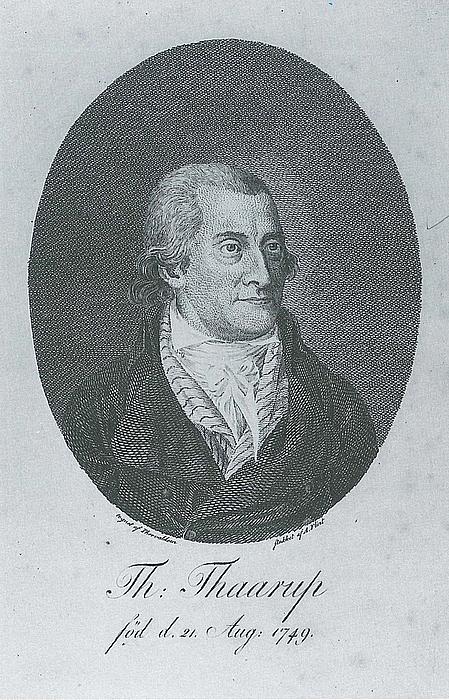 Andreas Flindt: Thomas Thaarup, ca. 1795