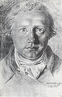 Asmus Jacob Carstens: Self-Portrait (ca. 1785)