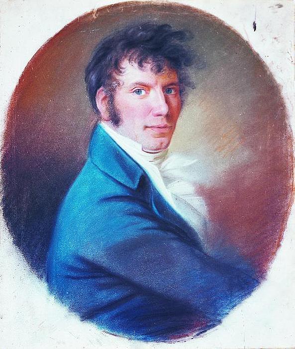Christian Horneman. Jens Baggesen, ca. 1813-14