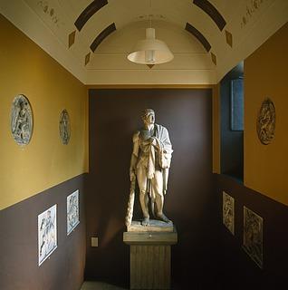 Bertel Thorvaldsen: Herkules, 1843 - Copyright tilhører Thorvaldsens Museum
