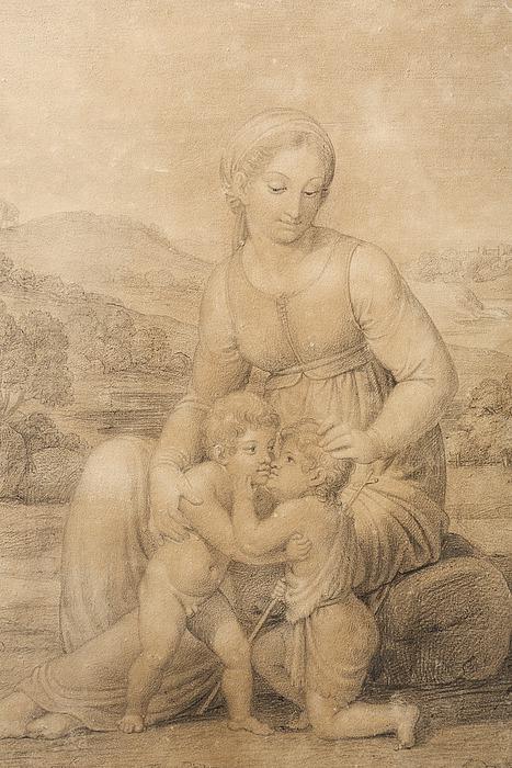 Bertel Thorvaldsen: Maria med Jesus og Johannes, 1808