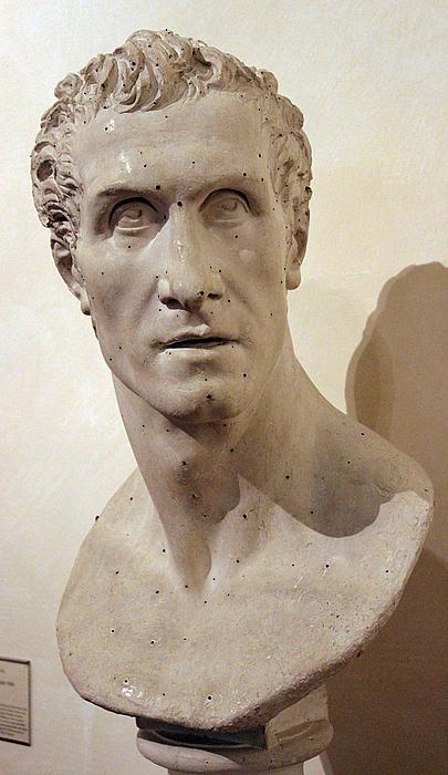 A. Canova: Selvportræt, 1811-12
