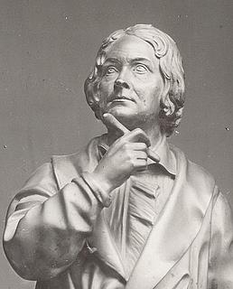 Alessandro Puttinati: Portræt af Thorvaldsen, 1830'erne, detalje, ukendt opholdssted, foto 1936