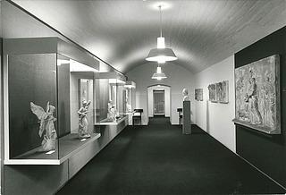 Tværkorridoren fotograferet i  1971