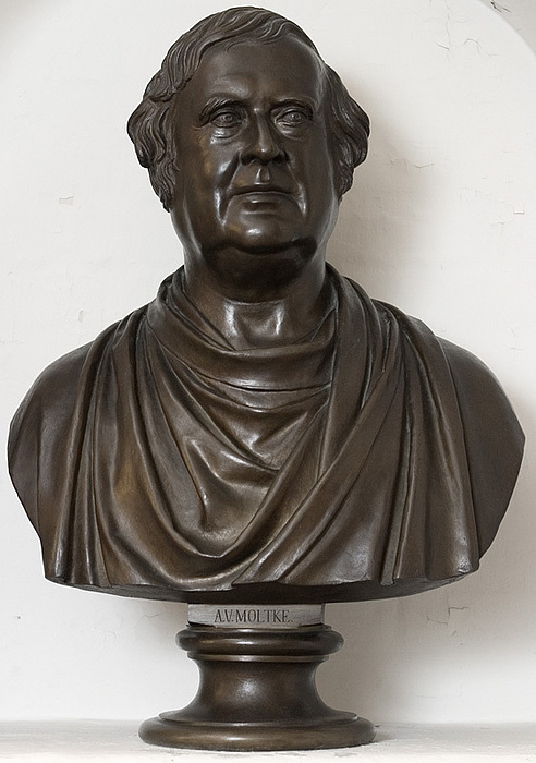 H.W. Bissen: A.W. Moltke, 1855