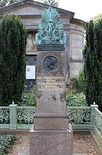 Gravmæle for Karl Friedrich Schinkel, Dorotheenstädtischer Friedhof, Berlin