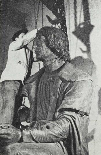 Copernicus sættes istand, 1949