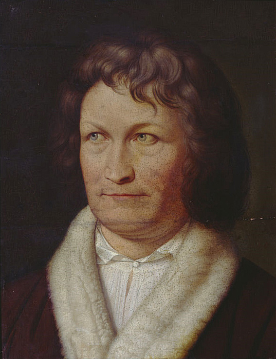 Adolph Senff, Portræt af Thorvaldsen