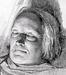 J.V. Gertner, Den døde Thorvaldsen, 25.3.1844