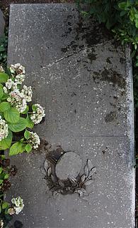 Gravmæle for Chr. Holm, Cimitero Acattolico
