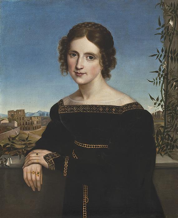 Portræt af Fanny Caspers
