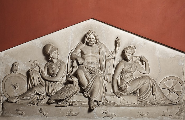 Jupiter, Minerva og Nemesis