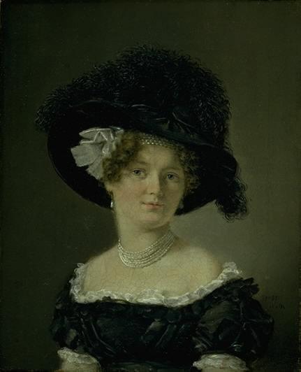 C.A. Jensen: Mathilde Theresia von Irgens-Bergh, 1824