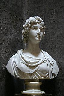 Thorvaldsen: Buste af grevinde Julie Potočka. Ca. 1833. Marmor. (Potočki'ernes gravkapel i katedralen på Wavel, Krakòw)