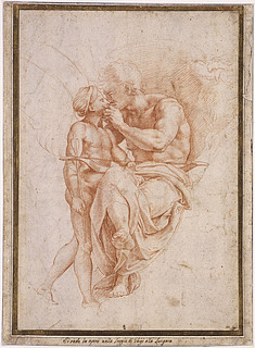 Kopist efter Raffaello Sanzio: Jupiter og Amor (Copyright tilhører Musée du Louvre)