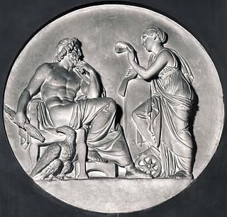 Bertel Thorvaldsen: Nemesis og Jupiter, 1810 (Copyright tilhører Thorvaldsens Museum)