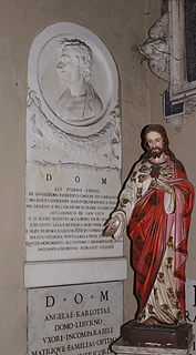 Gravmæle for W.F. Gmelin, San Lorenzo in Lucina, Rom