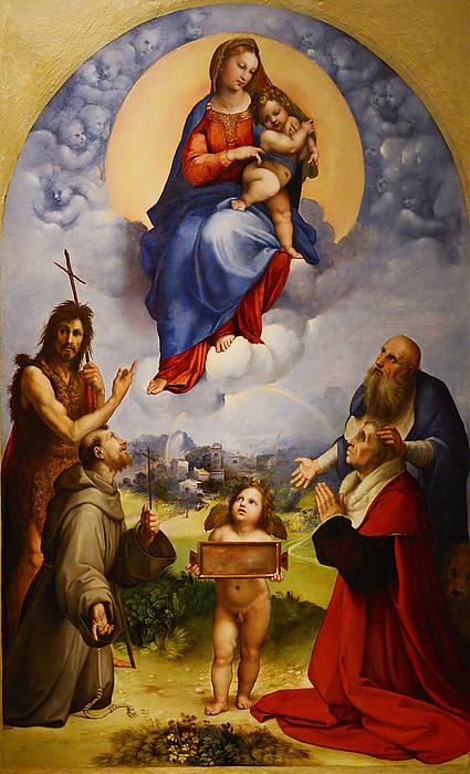 Rafael - Madonna di Foligno