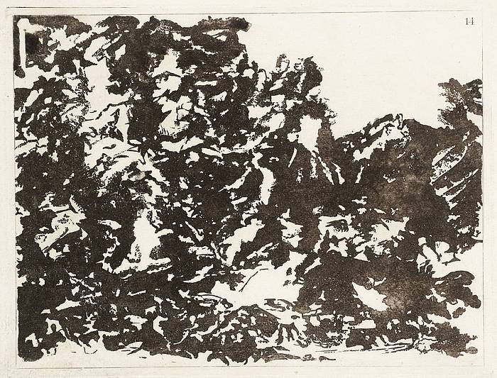 A New Method of Assisting the Invention in Drawing Original Compositions of Landscape No. 14