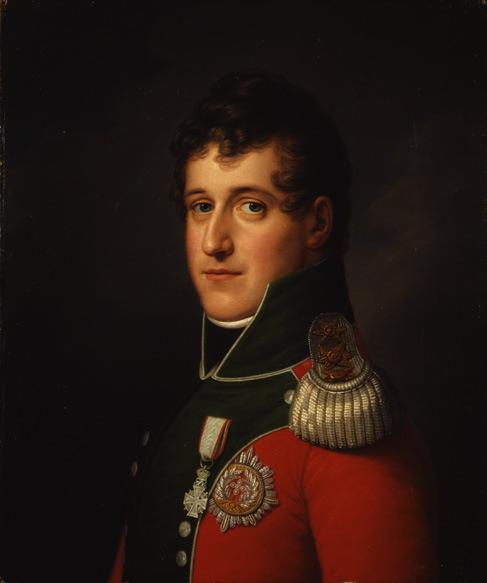 F.C. Gröger: Prins Christian Frederik, 1813-1814, Det Nationalhistoriske Museum på Frederiksborg Slot