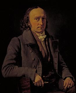 C.A. Jensen: Selvportræt, 1836 - Copyright tilhører Statens Museum for Kunst