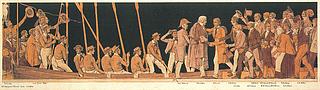 Sonnes Frise. Nordsiden - Copyright tilhører Thorvaldsens Museum