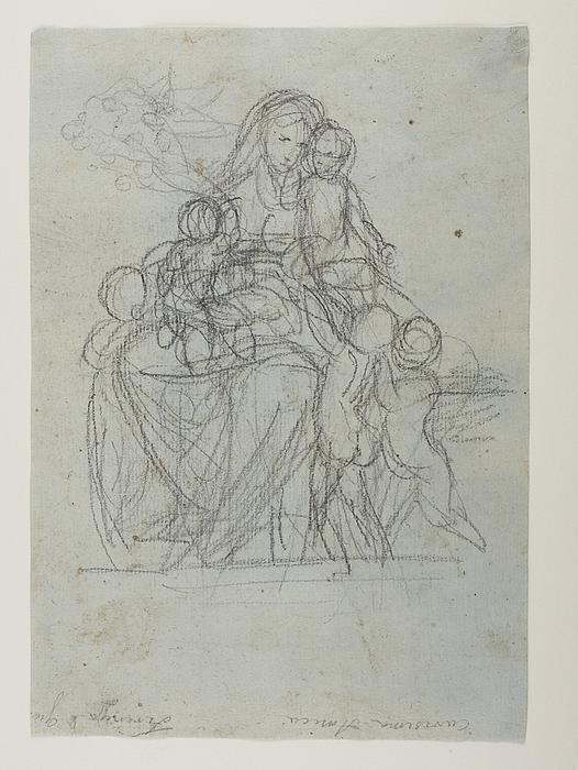 Caritas med fem børn