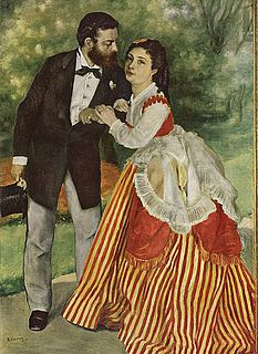 Auguste Renoir. Sisley og hans kone. 1868. Wallraf Richartz Museum, Köln