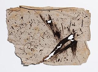 Christine Stampes klatpapir, indlagt i manuskriptet