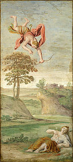 Domenichino Zampieri: Apollo og Coronis
