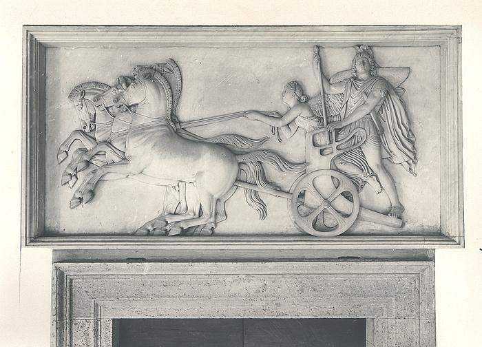 Alexander den Store på sin vogn