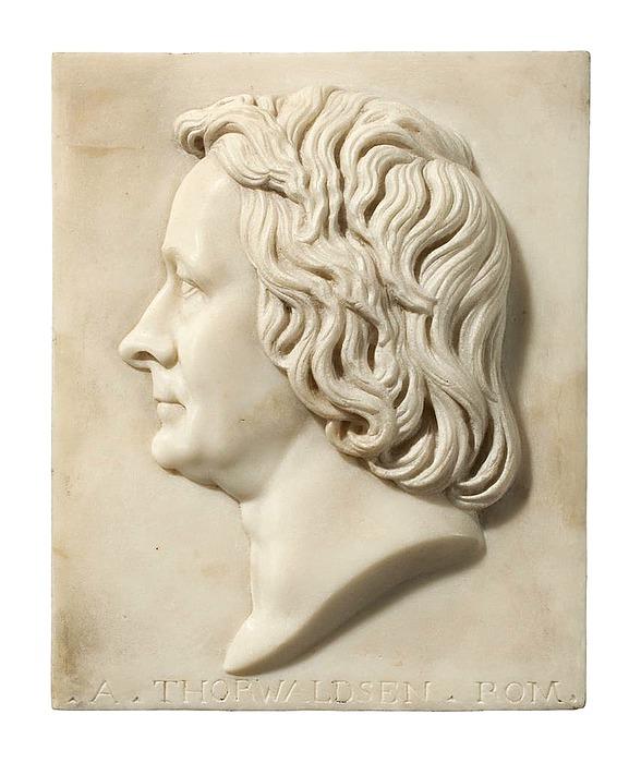 Franz Woltreck: Bertel Thorvaldsen, 1833
