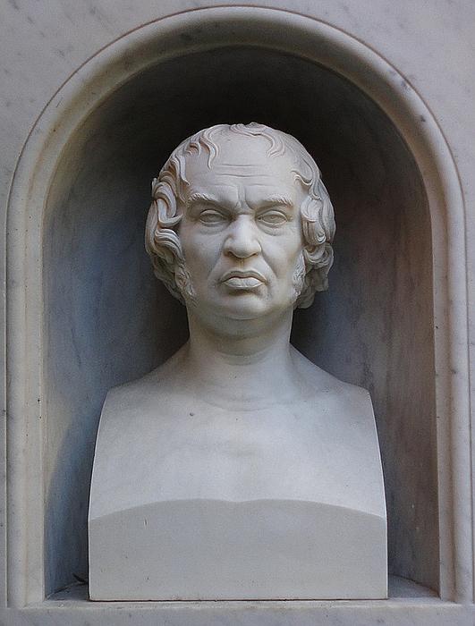 Gravmæle for J.M. Wagner, Campo Santo Teutonico
