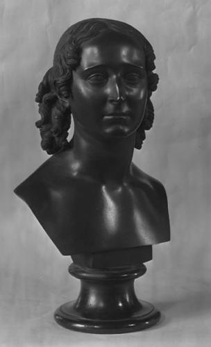 Bronzebuste af Caroline Amalie
