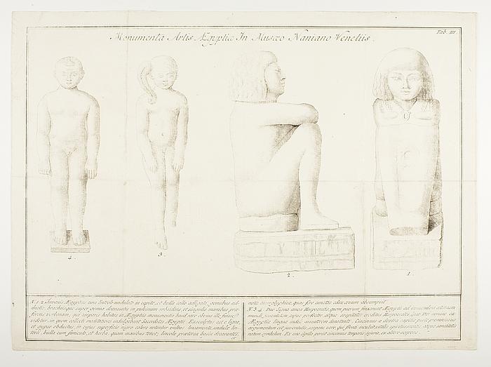 Monumenta Artis Ægyptiæ in Musæo Naniano Veneteiis Tab.III