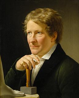 C.W. Eckersberg: Portræt af Thorvaldsen, 1820 - Copyright tilhører Thorvaldsens Museum