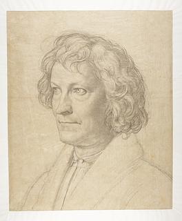 Carl Joseph Begas: Portræt af Thorvaldsen