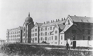 Chr. Hansen: Kommunehospitalet - Public domain