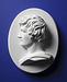 Thorvaldsens selvportræt fra Alexander den Stores indtog i Babylon