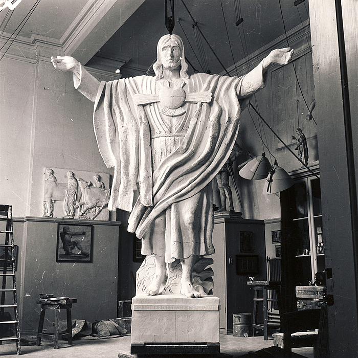 Jens Ferdinand Willumsen: Kristus med det hellige hjerte, 1951
