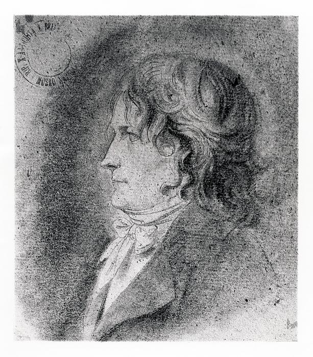 David Pierre Giottino Humbert de Superville: Bertel Thorvaldsen, omkring 1800