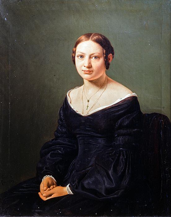 Constantin Hansen: Elise Stampe, 1842