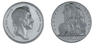 Medaillien i anledning af Frederik 6.s død