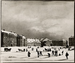 Kongens Nytorv med Charlottenborg, Gjethuset og Det Kongelige Teater, 1880, Københavns Museum, ID 5003