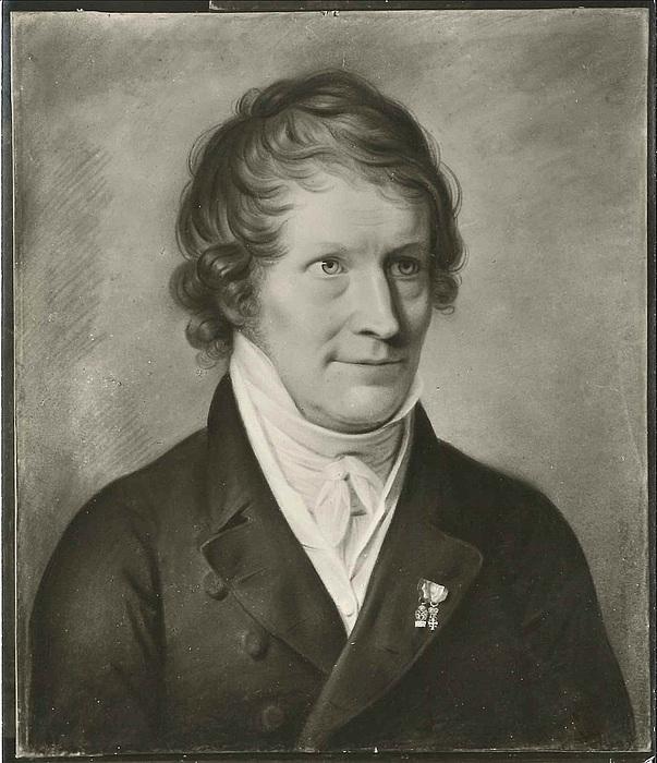 Christian Horneman. Portræt af Thorvaldsen, 1820