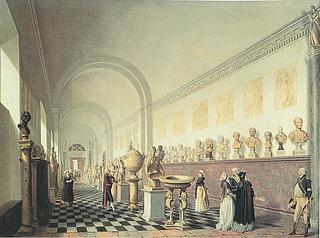 Pehr Hilleström: Mindregalleriet, 1790'erne - Public domain